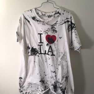CUSTOM I LOVE LA SHIRT